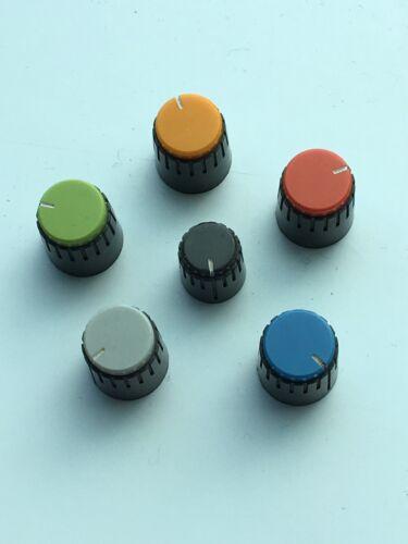 Grey Vintage Fostex Model 350 Recording Mixer Knob Button White