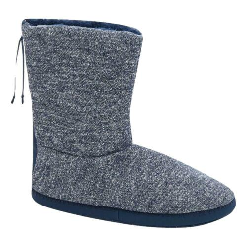 Animal NEW Bollo Men/'s Slipper Boot Indigo Blue Marl BNWT