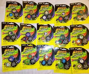Lot Stock 15 X3 Pach Total 45 Pièces Magg Racers Combat Stunt Wheels Bost Pack
