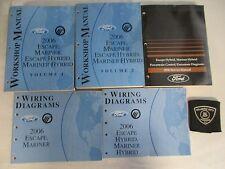 2006 FORD ESCAPE / MARINER / HYBRID SERVICE MANUALS / 2 WIRING / POWERTRAIN SET