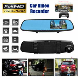 1080P-3-5-039-HD-Car-DVR-Dash-Cam-Front-and-Rear-Mirror-Camera-Video-Recorder