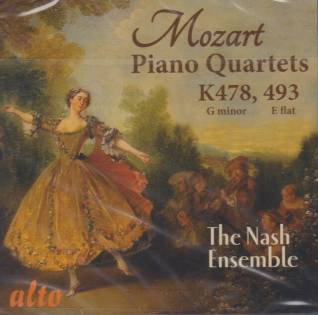 [BRAND NEW] CD: MOZART: PIANO QUARTETS: THE NASH ENSEMBLE