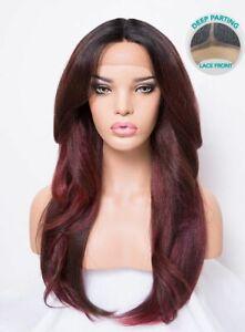 Détails sur 100% Premium Perruque Cheveux