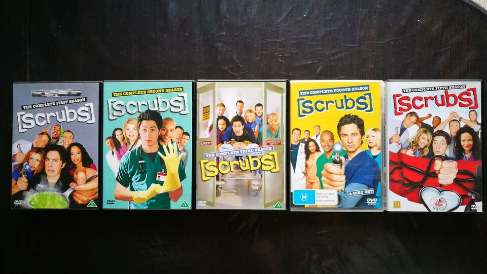 Scrubs, DVD, TV-serier