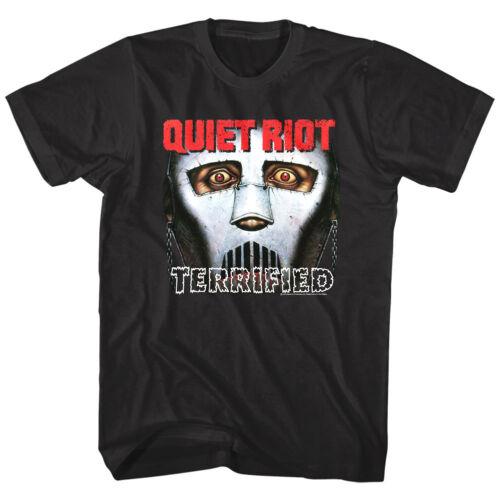 Album shirt Riot Quiet Rock Metal Band Art Cover Merch Masker Doodsbang T UxOxTqwnRE
