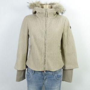 Zu Jacket Beige Jacke Pelz Malvin Fell Gr36 Daunen Details rBQtshdxC