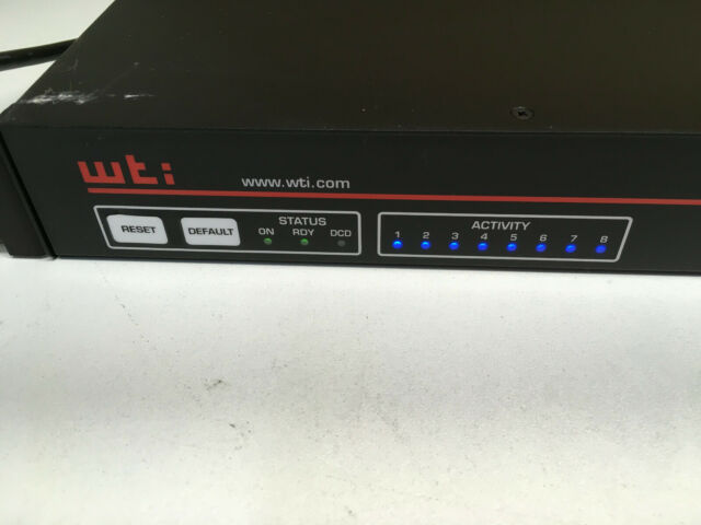 WTI TSM-8 SERIAL Console SERVER SWITCH (C10)