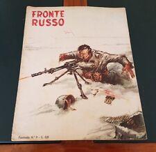 WW2 FRONTE RUSSO (1953) Supplemento ad ASSO di BASTONI nr. 52