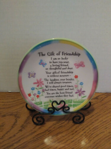 New Friendship Mini Plate with Stand
