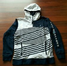 Staple Pigeon Crosshatch Hoodie, size XL Extra Large, Navy/White, sb, New, NWT