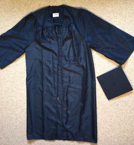 Jostens Blue Academic Graduation Cap Gown 510 To 60