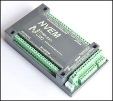 6Axis CNC 200KHz Ethernet MACH3 Card Breakout Board Motor Motion Controller NVEM