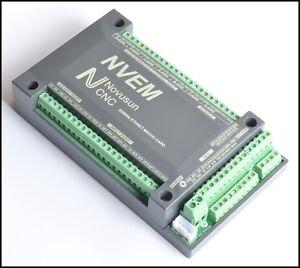 6Axis CNC 200KHz Ethernet MACH3 Card Breakout Board Motor Motion