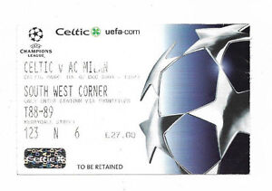 Ticket 200405 UEFA Champions League  CELTIC v AC MILAN - <span itemprop=availableAtOrFrom>South London, United Kingdom</span> - Ticket 200405 UEFA Champions League  CELTIC v AC MILAN - South London, United Kingdom