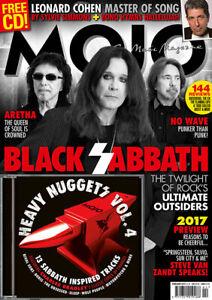 MOJO Black Sabbath - Issue # 279 / February 2017 (NEW MAGAZINE & CD)