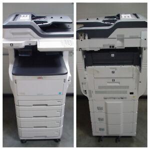 Abholung-Klappe-defekt-OKI-ES8473dnv-MFP-A3-Drucker-Scanner-Fax-Kopierer-0