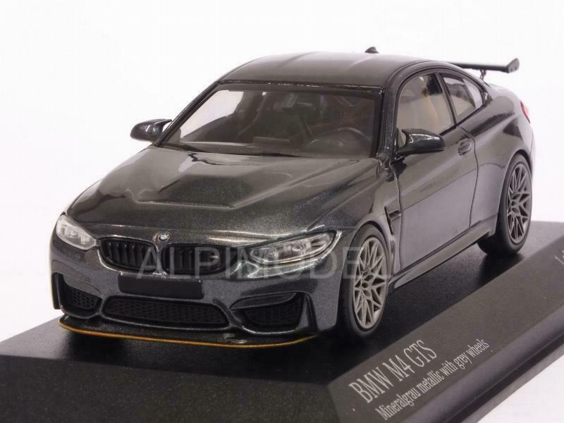 BMW M4 GTS  2016 Mineral gris Metallic 1 43 MINICHAMPS 410025224  meilleure offre