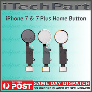 promo code cfce7 8a771 Details about iPhone 7 & 7 Plus Touch ID Sensor Home Button Key Flex Cable  Replacement