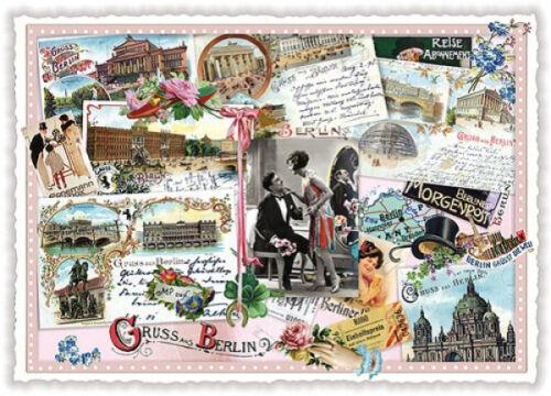 "Edition Tausendschön /""Berlin/"" PK38 Grußkarte Postkarte Sammelkarte Postcrossing"