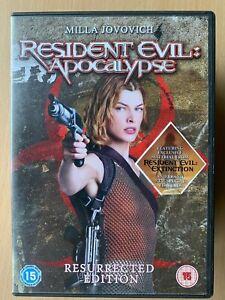 Resident-Evil-Apocalypse-DVD-2004-2-Zombie-Horror-Sequel-Resurrected-Edition