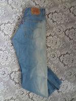 LEVI'S STRAUSS 502 BLUE DENIM JEANS - W 32 L 29 - *J43