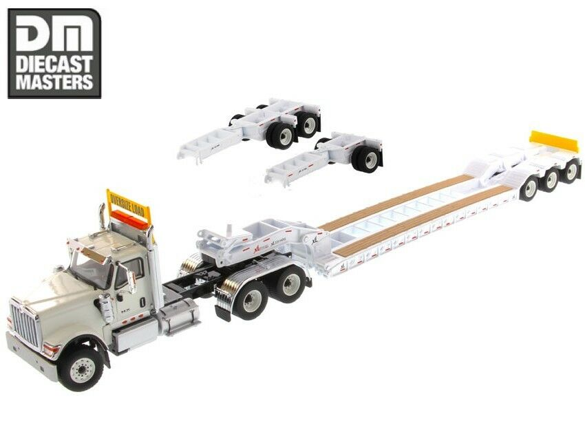 autorizzazione Diecast Masters 1 50 Trailer Head 71015 Int'l HX520 HX520 HX520 Day Cab Teem Tractor XL120  distribuzione globale