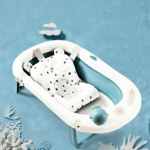 2020-Top-Baby-Bath-Tub-Mat-Non-slip-Seat-Support-Cushion-Safe-Bathing-Foldable