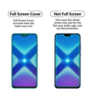 Details about 2 Pack FULL Screen CLEAR TPU Screen Protector Cover For  Huawei Honor 8X Max