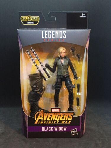 "THANOS BAF Marvel Legends 6/"" Best of Avengers 2019 - Black Widow"