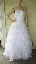 Wedding Strapless Dress Bride Frankenstien Zombie Prom Queen Fairy Costume 8