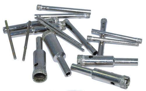 2-3-4mm 10 per pack Diamond tip drill bits suitable for Dremel drills