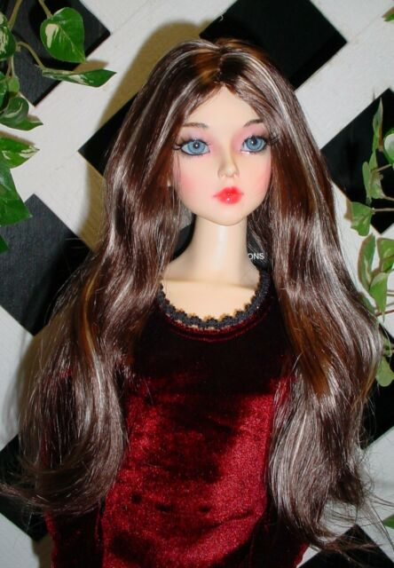 "DOLL Wig, Monique Gold ""Pretty Girl"" Size 5/6  - Brown Black w Honey Blonde"