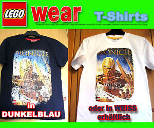 LEGO-wear-lifestyle-T-Shirt-Bionicle-weiss-oder-blau