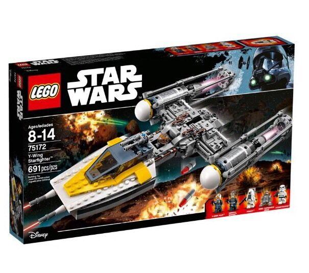 LEGO 75172  Star Wars Y- Wing Starfighter - BNISB