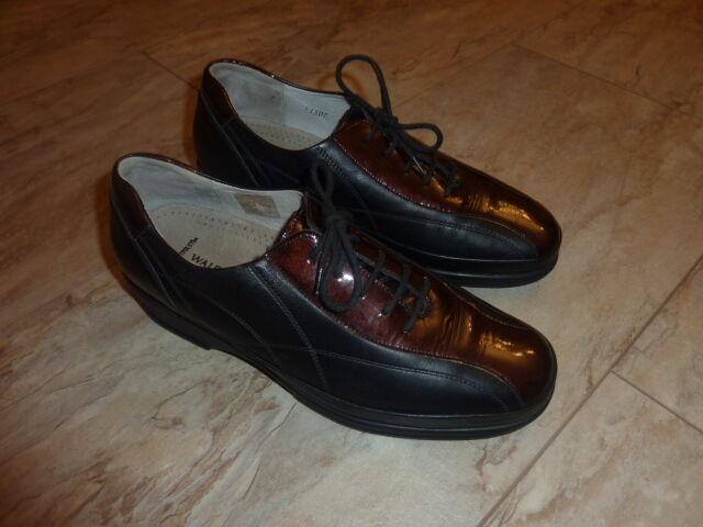 Waldläufer Schuhe Leder Gr 5,5, wneu.