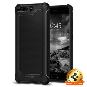 Spigen-Huawei-P10-Plus-Rugged-Armor-Extra-Shockproof-Protective-TPU-Case-Cover