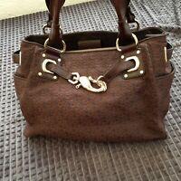Shopper, DKNY, Dejlig stor rummelig mørkebrun