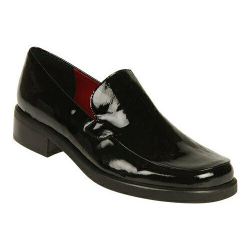 26972a469aa Franco Sarto Womens BOCCA Loafer Black Patent 10 M for sale online ...