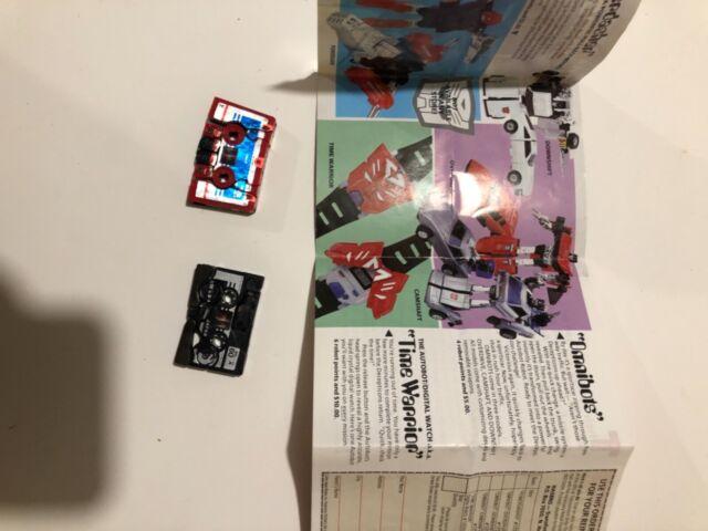 G1 Transformers Transforming casettes for Soundwave