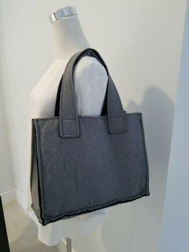 Sweats Norma Kamali Gray Tote Bag 11 x 15