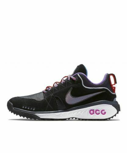 Nike ACG Dog Mountain Mens Size 7.5 shoes Mountain Trail  AQ0916 001 Hyper Grape