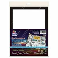 Pacon Self-adhesive Paper - For Inkjet Print - Letter - 8.50 X 11 - 1 / Pack - on sale