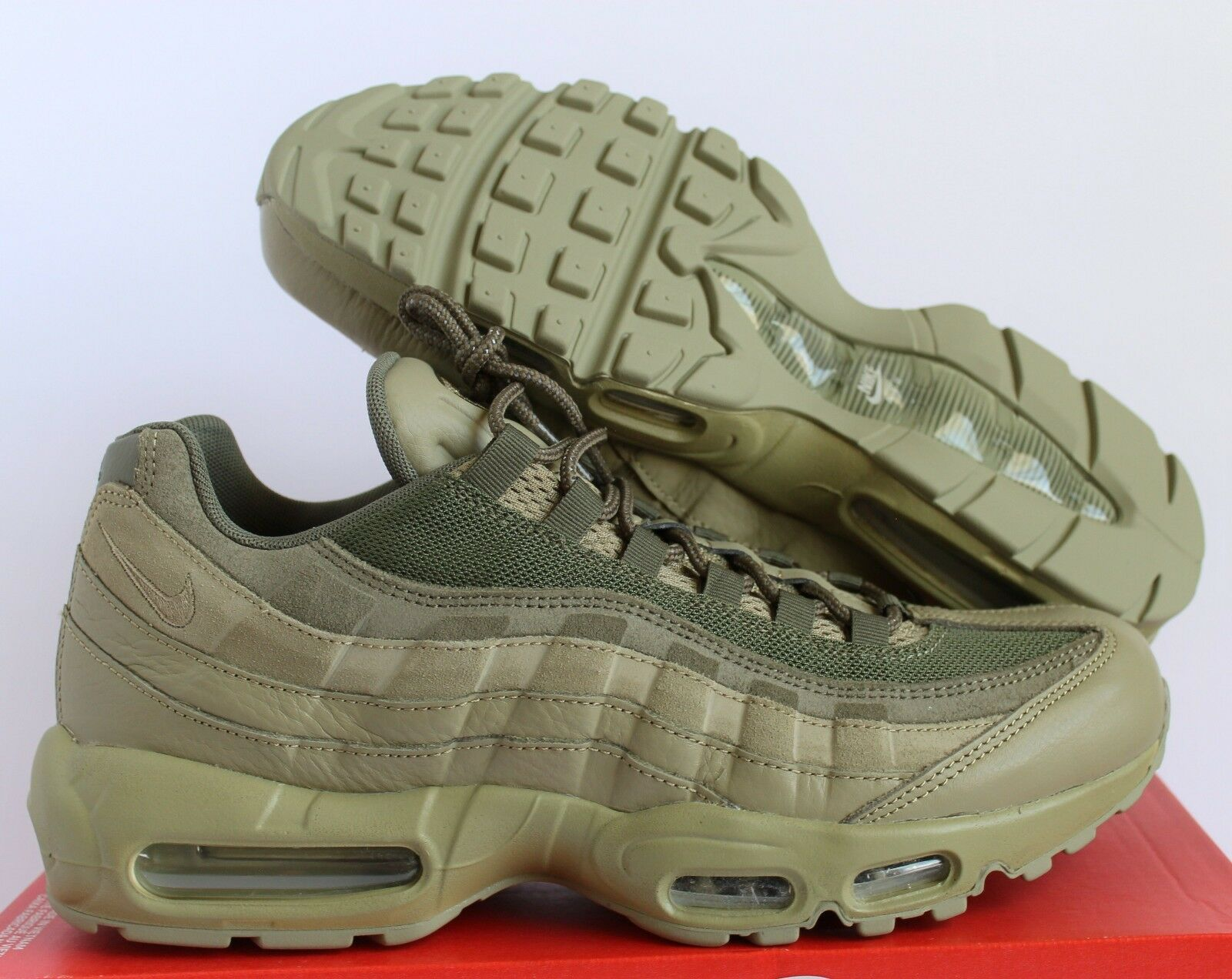cfbac6c8c4e116 Nike Air Max 95 Premium PRM Neutral Olive Green Sz 11 538416-201 for ...