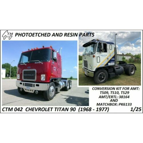 1968-1977 photoetch Kit 1//25 CTM042 Chevy Titan 95