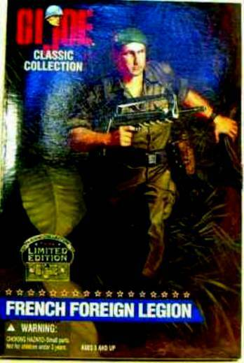 Hasbro Toys GI Joe 12 Inch French Foreign Legion Action Figure New 1997