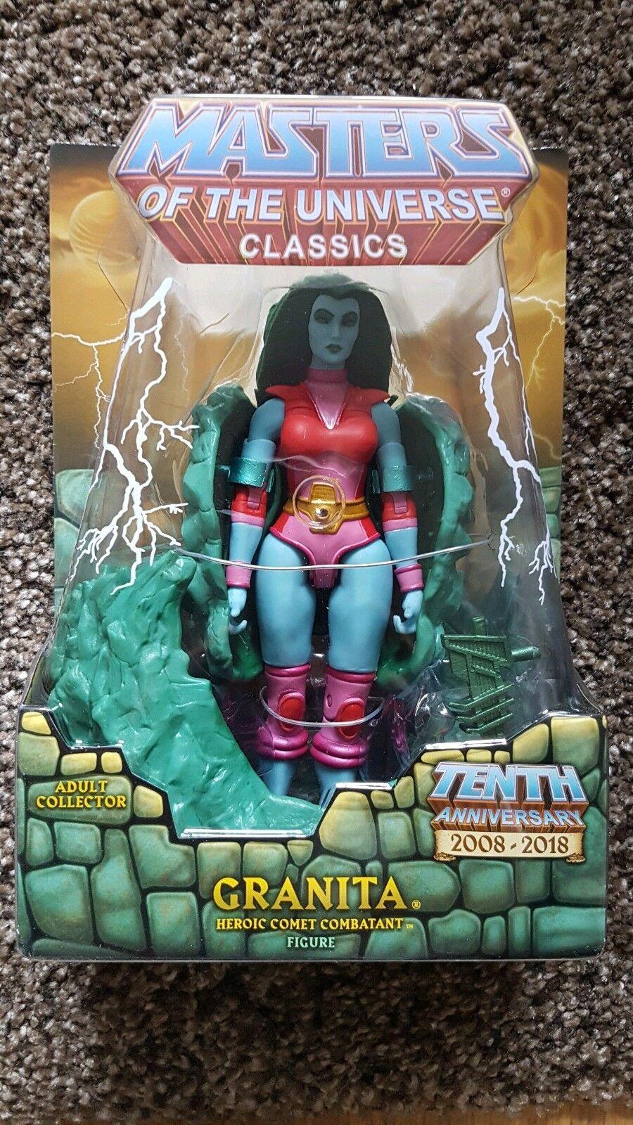 He-Man Masters of the Universe Classics GRANITA figure MOC new MOTUC She-Ra