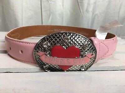 Nocona Girls Belt Buckle Cowgirls Rule