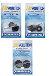 Interpet-Airvolution-Complete-Spare-Kit-AVMini-AV-1-2-3-4-Fish-Tank-Air-Pump