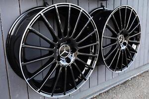 18 Zoll V4 Felgen für Mercedes A C Klasse W176 W177 W204 W205 Coupe Cabrio AMG