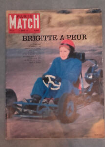 París Match - N º 615-1961 - Brigitte Bardot A Peur